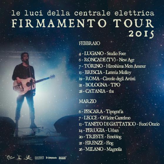 Le luci della centrale elettrica - Vasco Brondi - Firmamento tour 2015